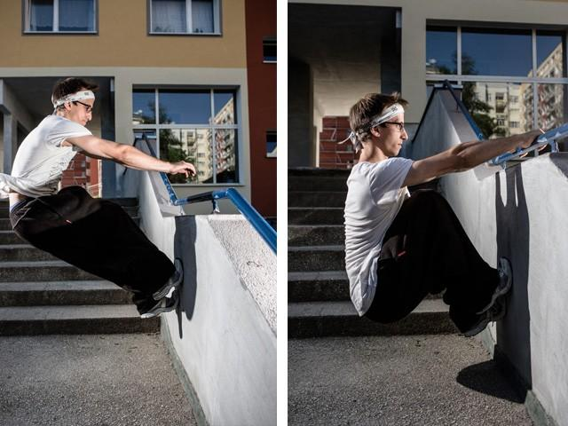Freerunning technika