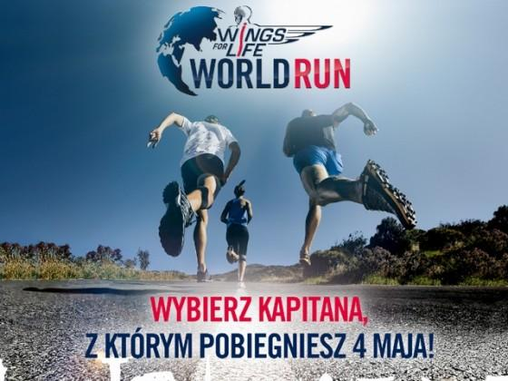 Wings For Life World Run: Wybierz sobie kapitana