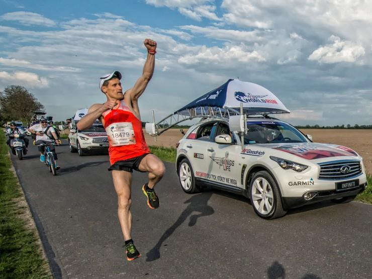 Wings for Life World Run, Bartosz Olszewski, Dominika Stelmach