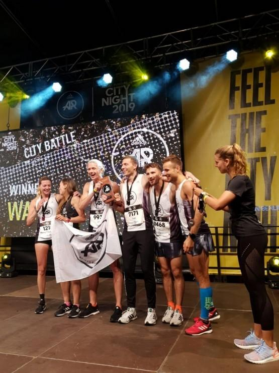 Speed Squad i adidas Runners Warsaw na Berlin City Night 2019